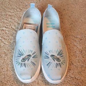 Brand new Cinderella Toms size 9